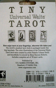 Tiny Tarot Cards - KeyChain