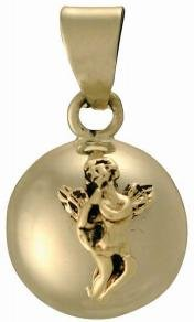 Chiming Tinkerball Angel Pendant