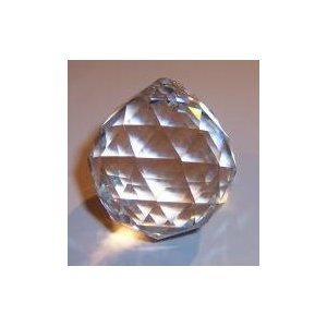 40mm Faceted Crystal Ball Prisms
