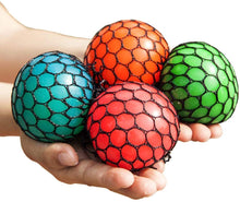 Grape Mesh Squeeze Ball 3 Pack