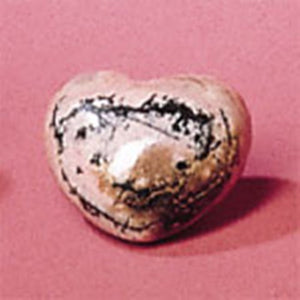 Heart Shaped Rhodonite