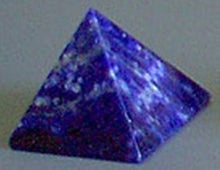 Pyramid Made of Sodalite