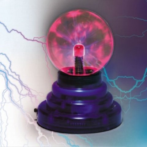 Plasma Lightning Storm Ball
