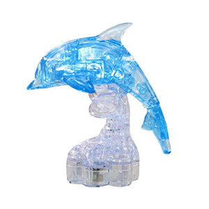 3D Crystal Dolphin Puzzle