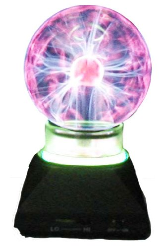 Plasma Ball With Neon Ring