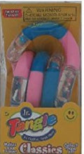 Tangle Junior Smooth - choose your colour (Light Blue, Pink & Clear) by Tangle