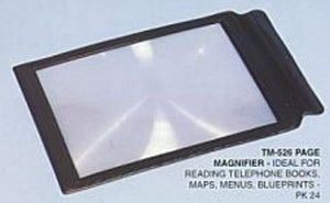 PAGE MAGNIFIER x4 7x10