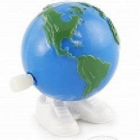 Earth Wind Up- Set of 3