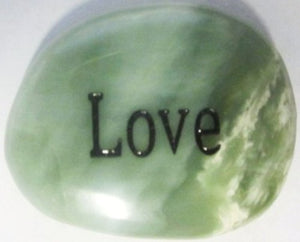 Love Engraved Stone