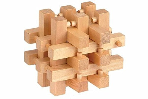 3 Inch Wooden 3D Puzzle - Brother