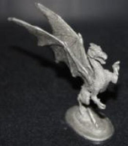 Pewter Standing Dragon