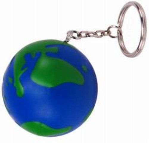 Earth Squeezie Keychain - Set of 2