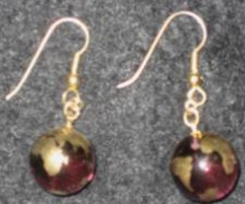 Glass Earth Earring