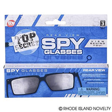 Spy Look Behind Sunglasses