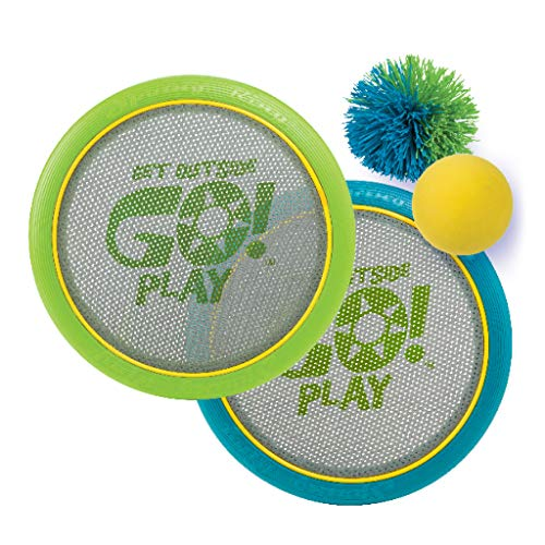 Spring Ring Outdoor Paddle Ball Play Set