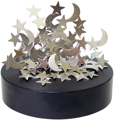Magnetic Sculptures Moons and Stars