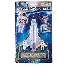 Die Cast Space Shuttle and Astronauts