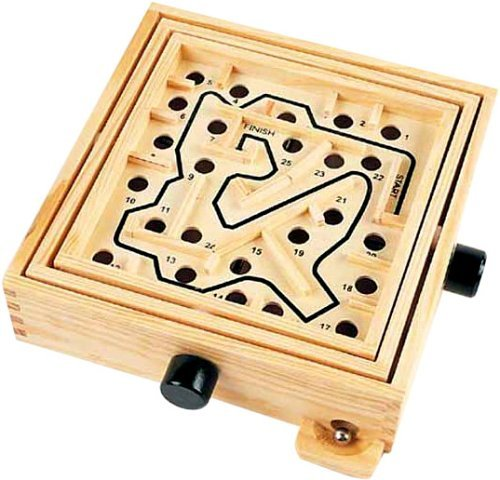 Wooden Labyrinth Puzzle Maze