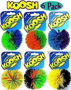 Koosh Ball Classic - Set Of 6 - Assorted Colors