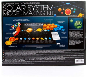 3D Glow-in-The-Dark Solar System Mobile Making Kit