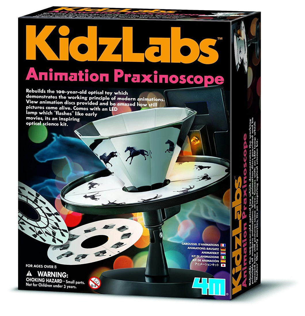 Animation Praxinoscope Science Kit Zoetrope