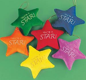 You Are A Star Plush Star Set of 3