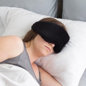 Memory foam wrap-around eye mask