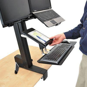Tablet / documents holder for WorkFit-S