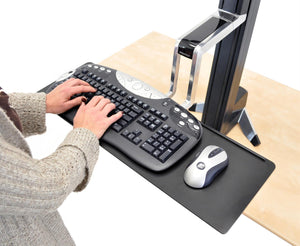 Long keyboard tray for Workfit-S
