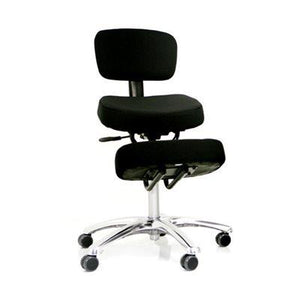 Jazzy kneeling chair with backrest