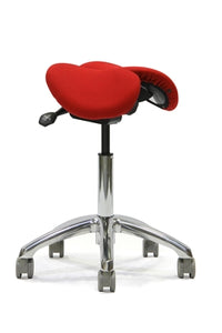 Adjustable Ergolab saddle stool