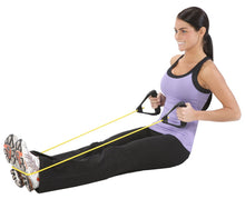 Exercise tube with handles