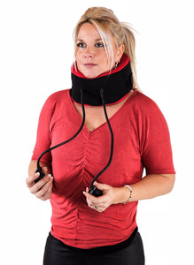 Neck traction system