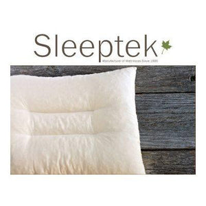 Organic contoured latex pillow