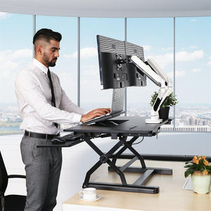 Sit Stand  table station Loctek