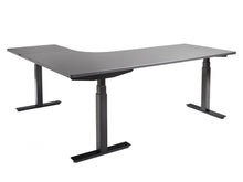 UpCentric Elevating electric table L shape