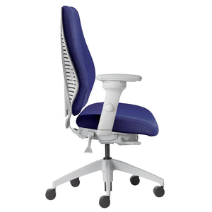 AirCentric light grey ergonomic chair