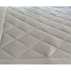 Reversible mattress protector  wool / cotton
