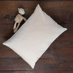 Organic shredded latex pillow for kids