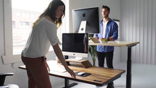 Sway electric standing desk