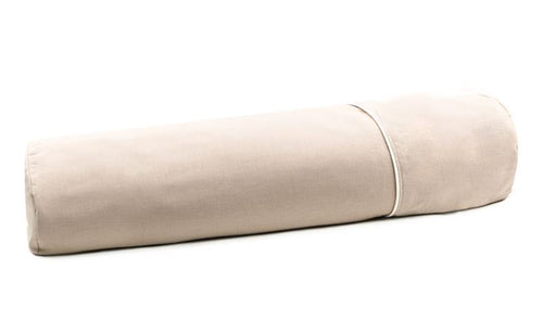 Body pillow in buckwheat