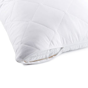 100% cotton pillow protector