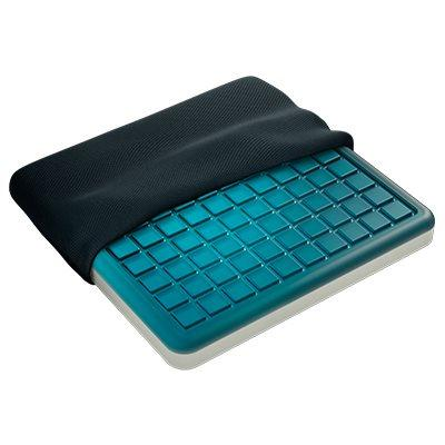Technogel gel and memory foam seat