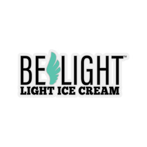 Belight Ice Cream Merch - Kiss-Cut Stickers