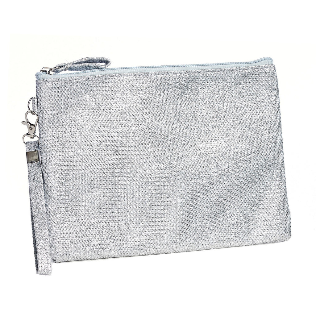 Metallic Shimmer Clutch