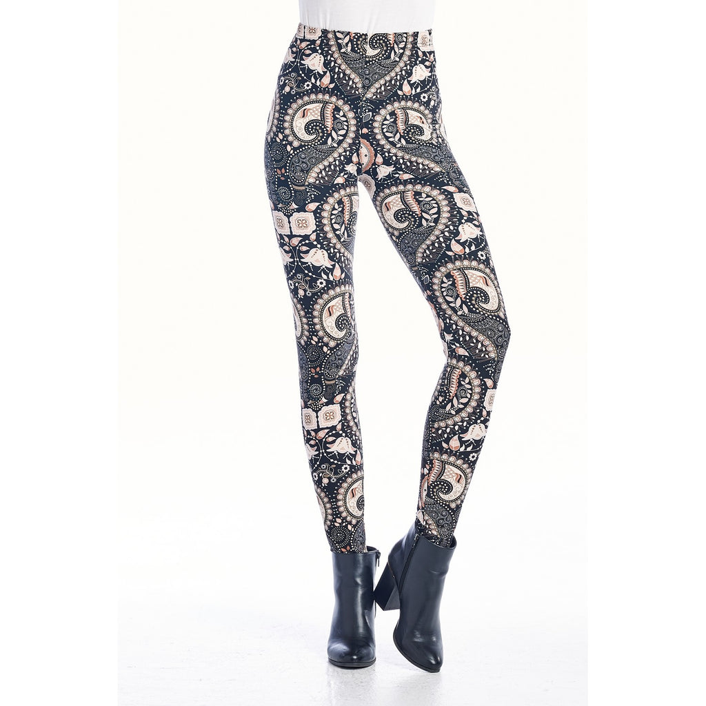 Cadence Industrial Paisley Leggings
