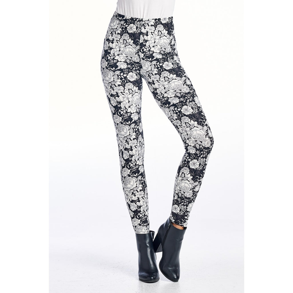 Cadence Monochrome Blume Leggings