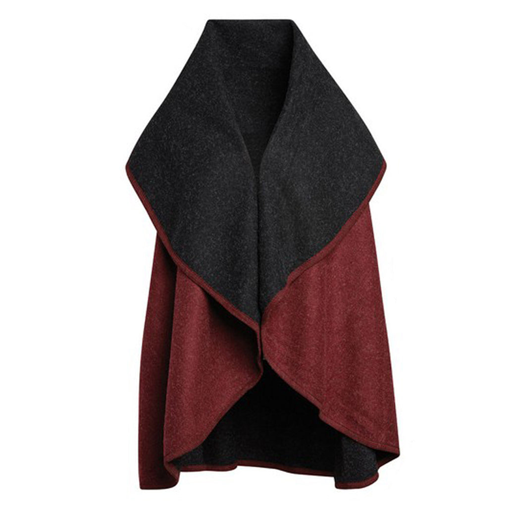 The Olivia Reversible Shawl Vest