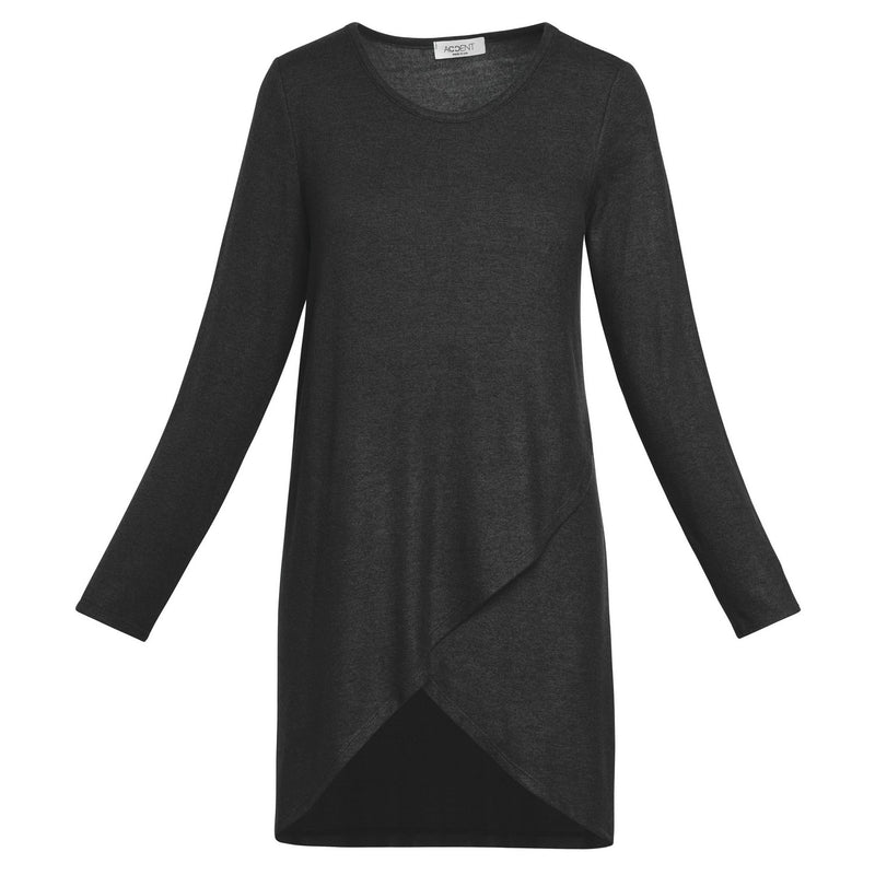 Overlap-Front Tunic