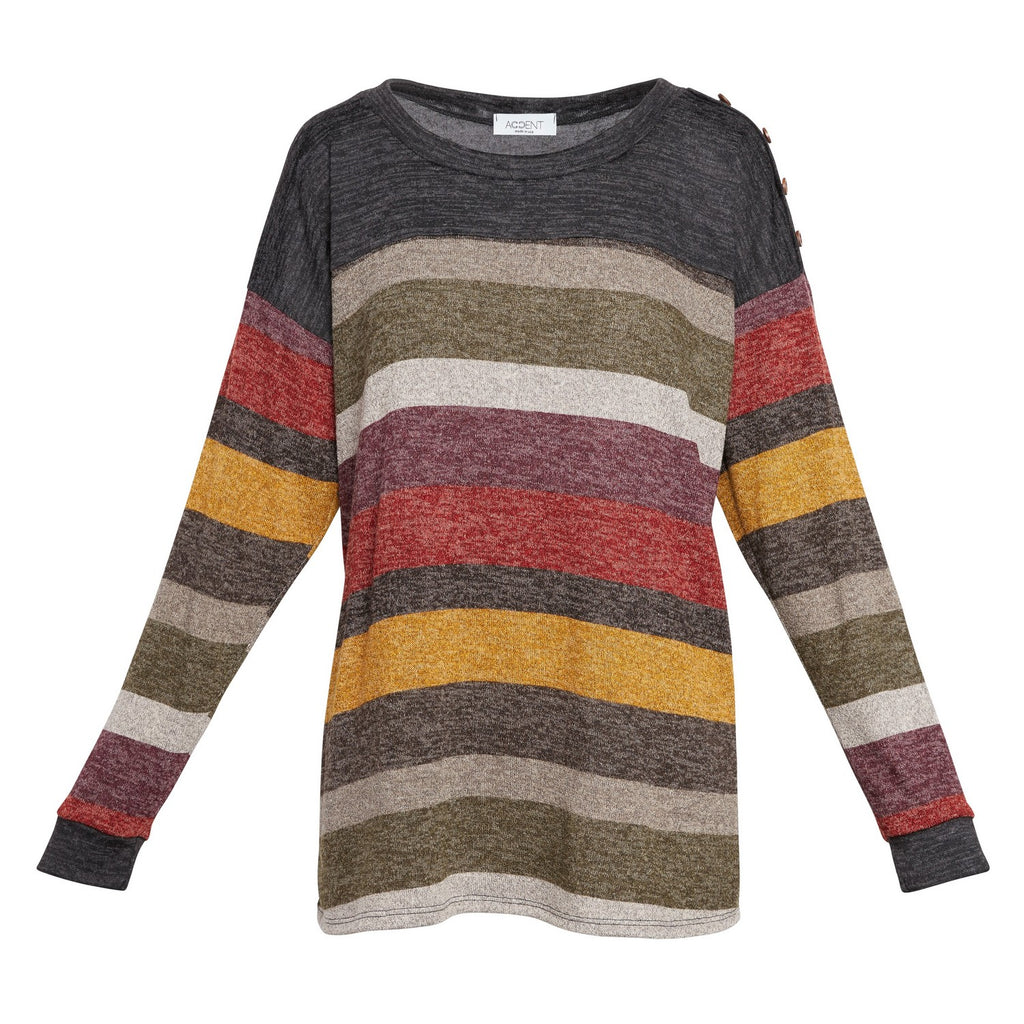 Magda Colorblock Sweater